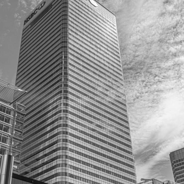 Barclays Building B&W