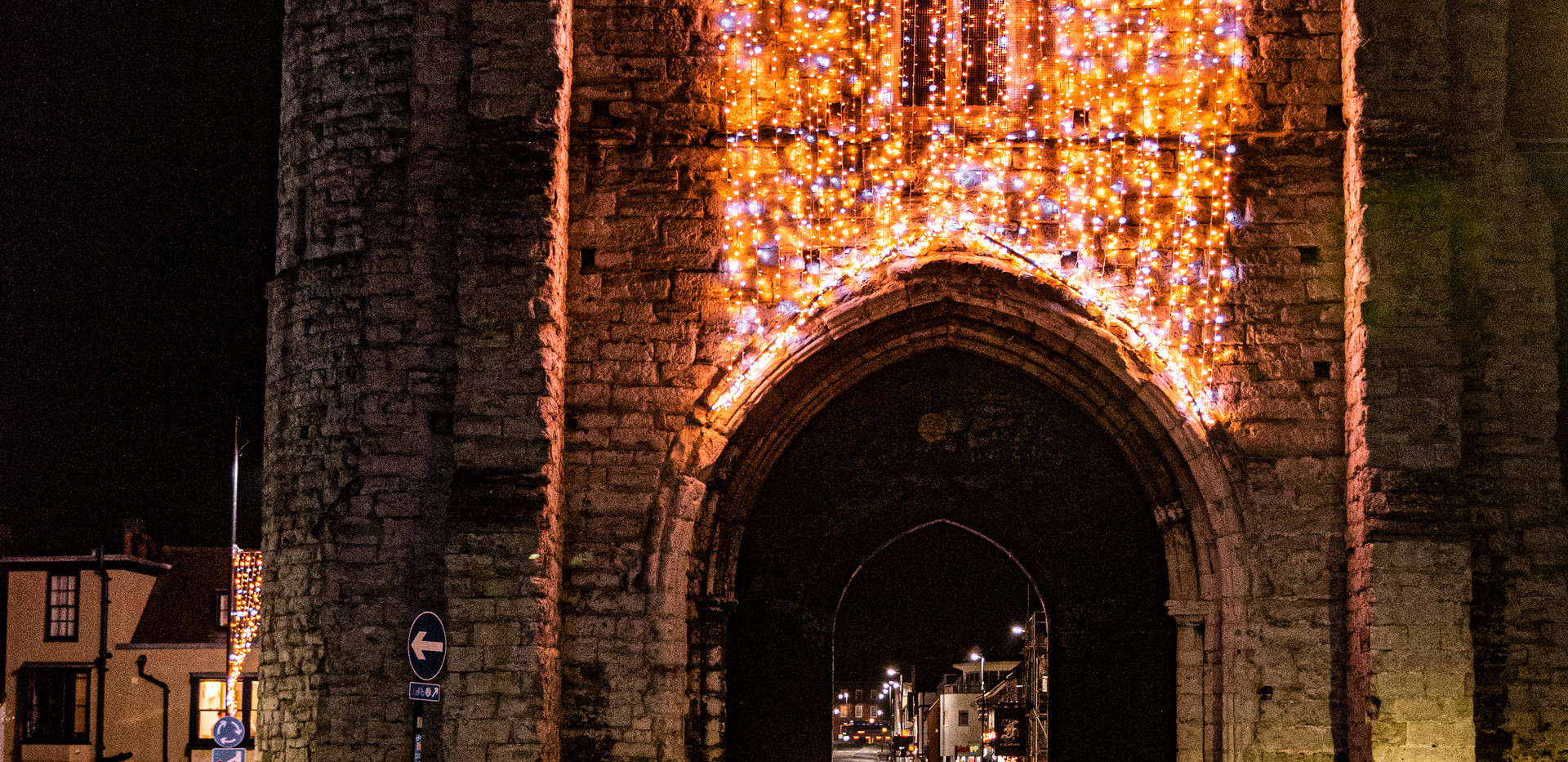 4. Christmas Lights In Canterbury