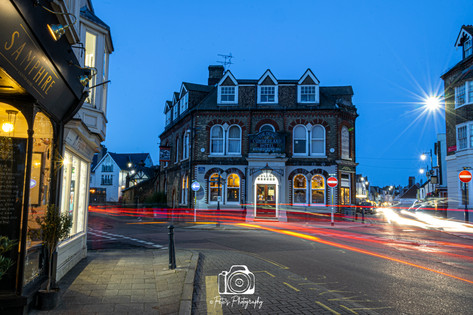 Whitstable Town @ Night
