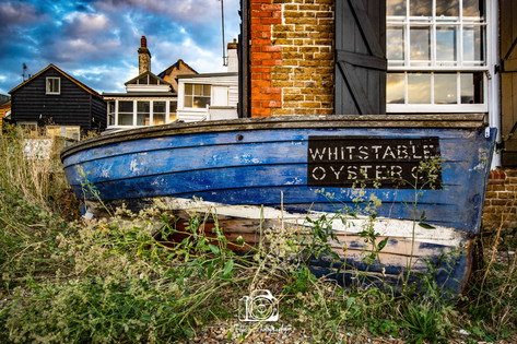 Whitstable Oyster Co. Boat