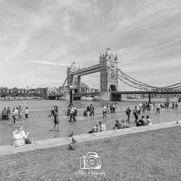 2. Tower Bridge & Tower Of London B&W