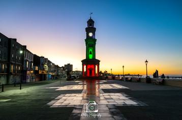 Clock Tower Glow