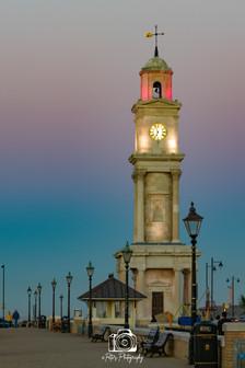 Clock Tower After Sundown