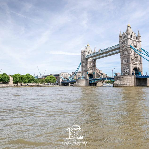 Tower Bridge & Tower Of London Colour