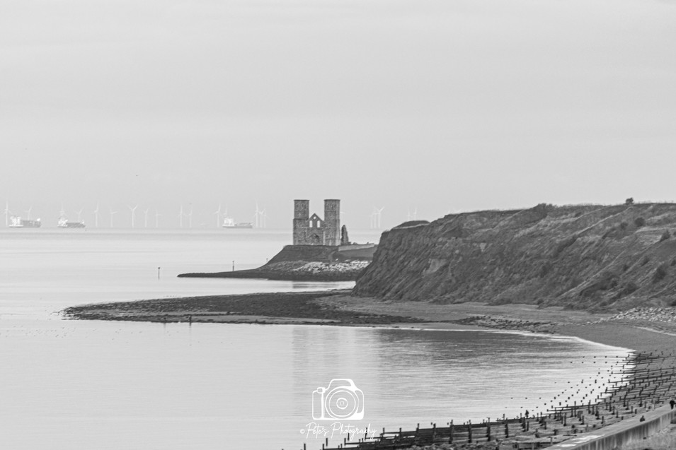Reculver B&W Reflections