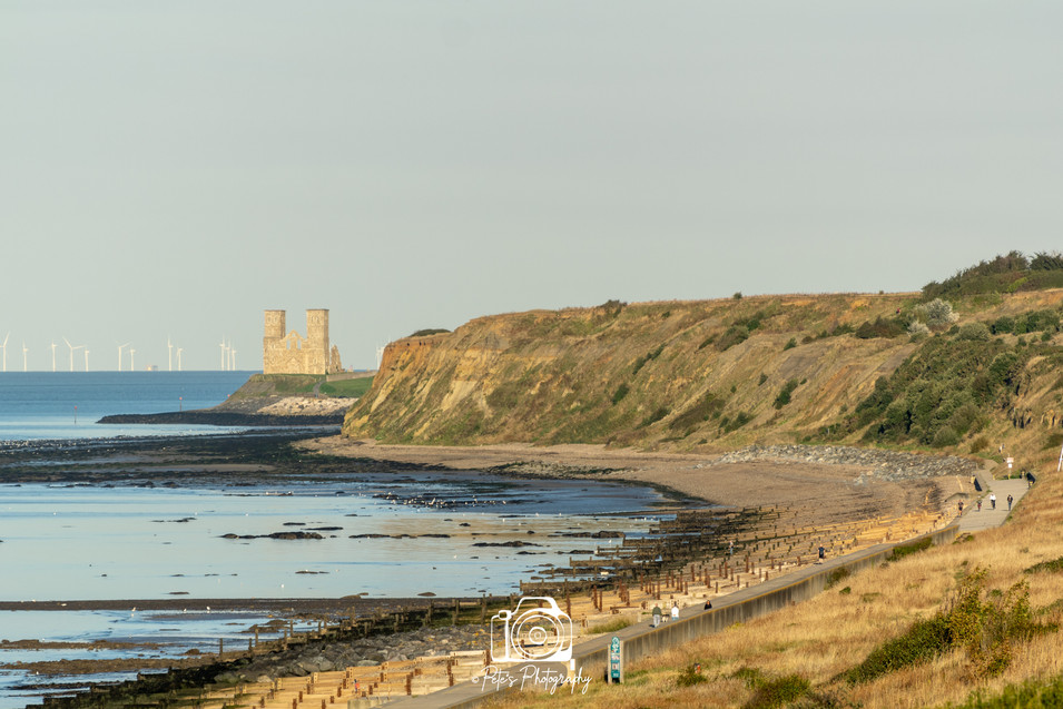 View of Reculver Towers