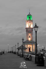 Duotone Clock Tower
