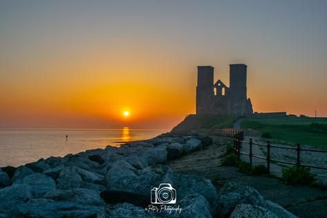 Reculver Towers Sunrise @ 5:40am