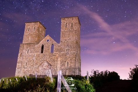 Starry Reculver Towers