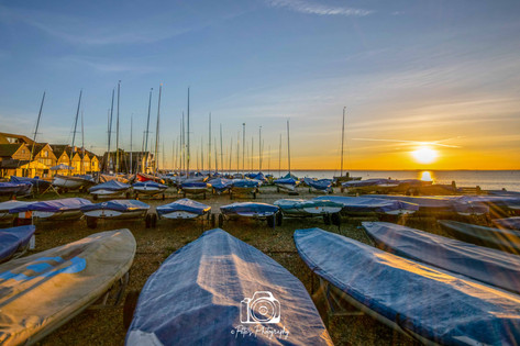 Whitstable Boats @ Sunset