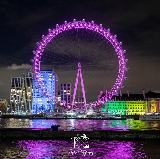 The London Eye Rainbow