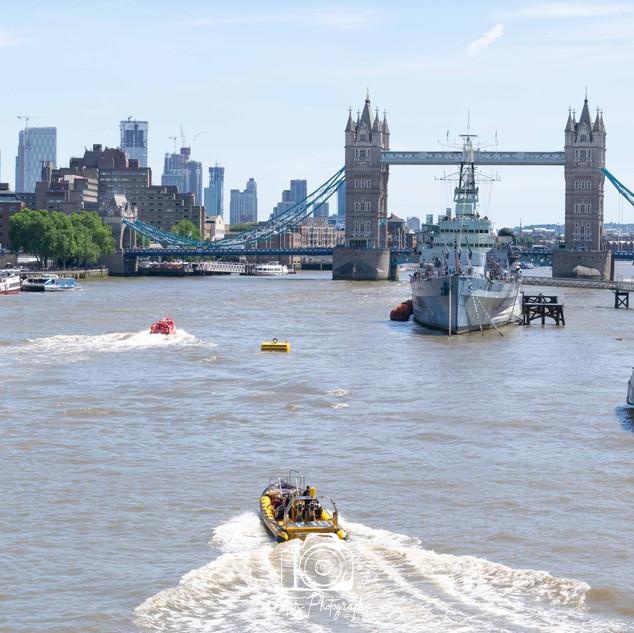 2. Tower Bridge and HMS Belfast Colour