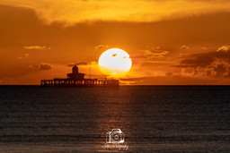 1. Sunset By The Pier