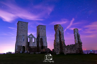 Reculver At Twilight
