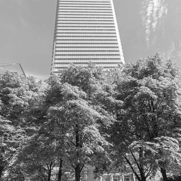 HSBC Building B&W