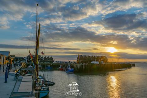Quiet Harbour @ Sunset
