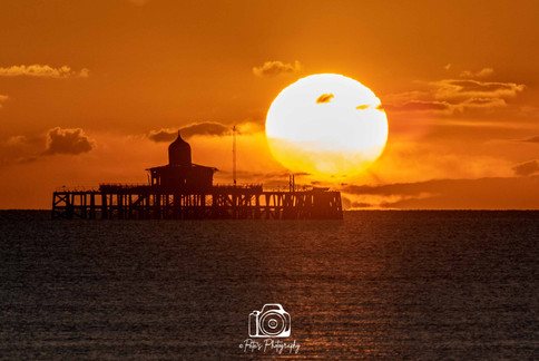 2. Sunset By The Pier