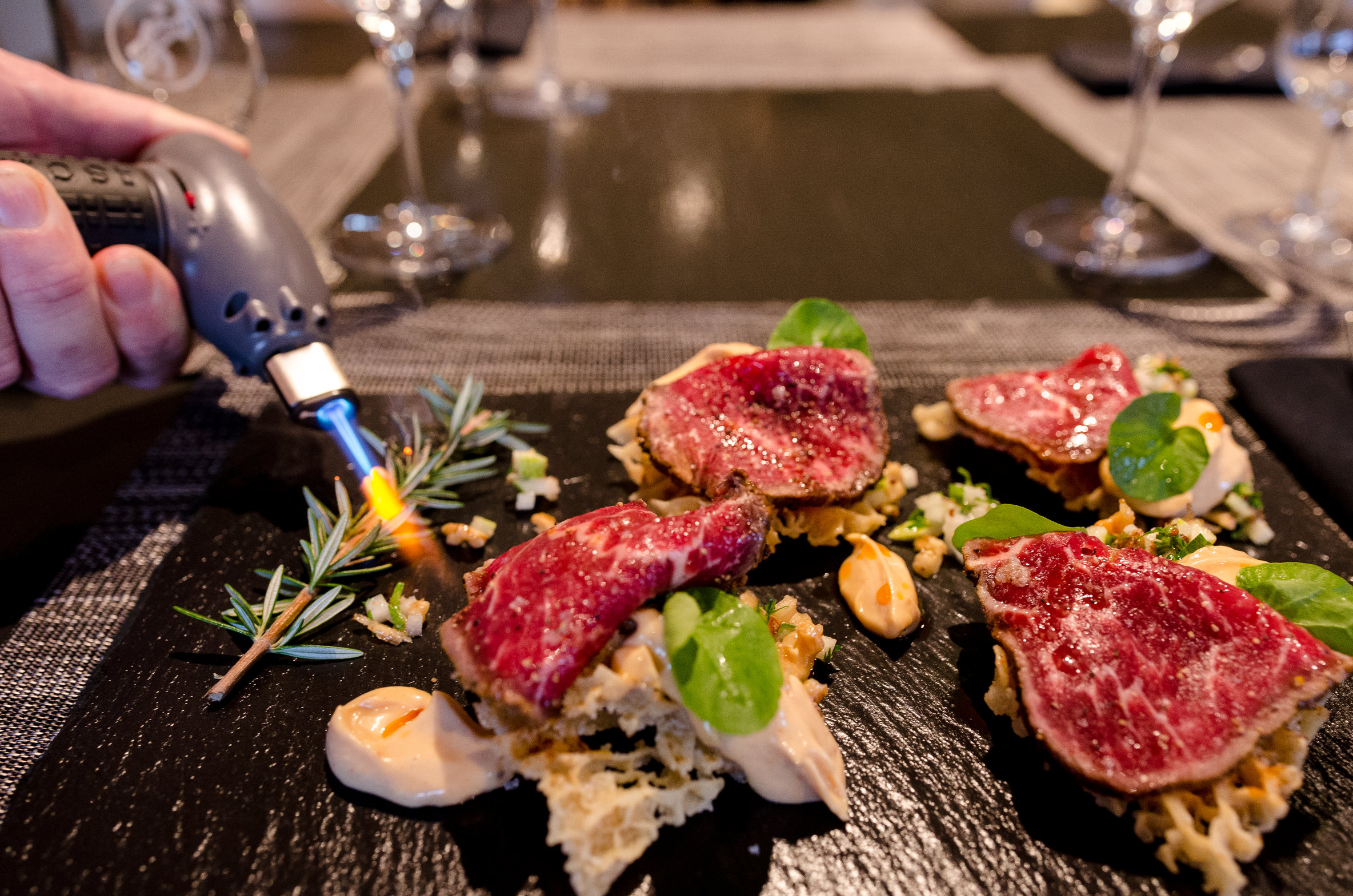 Go Vino - Beef Sashimi