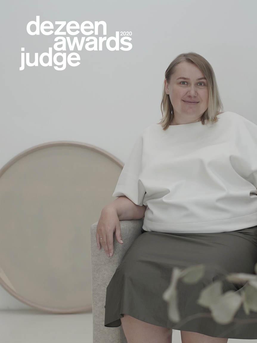 EXPERT Victoriya Yakusha was selected as Judge of DEZEEN Awards 20 Judge Dezeen Awards