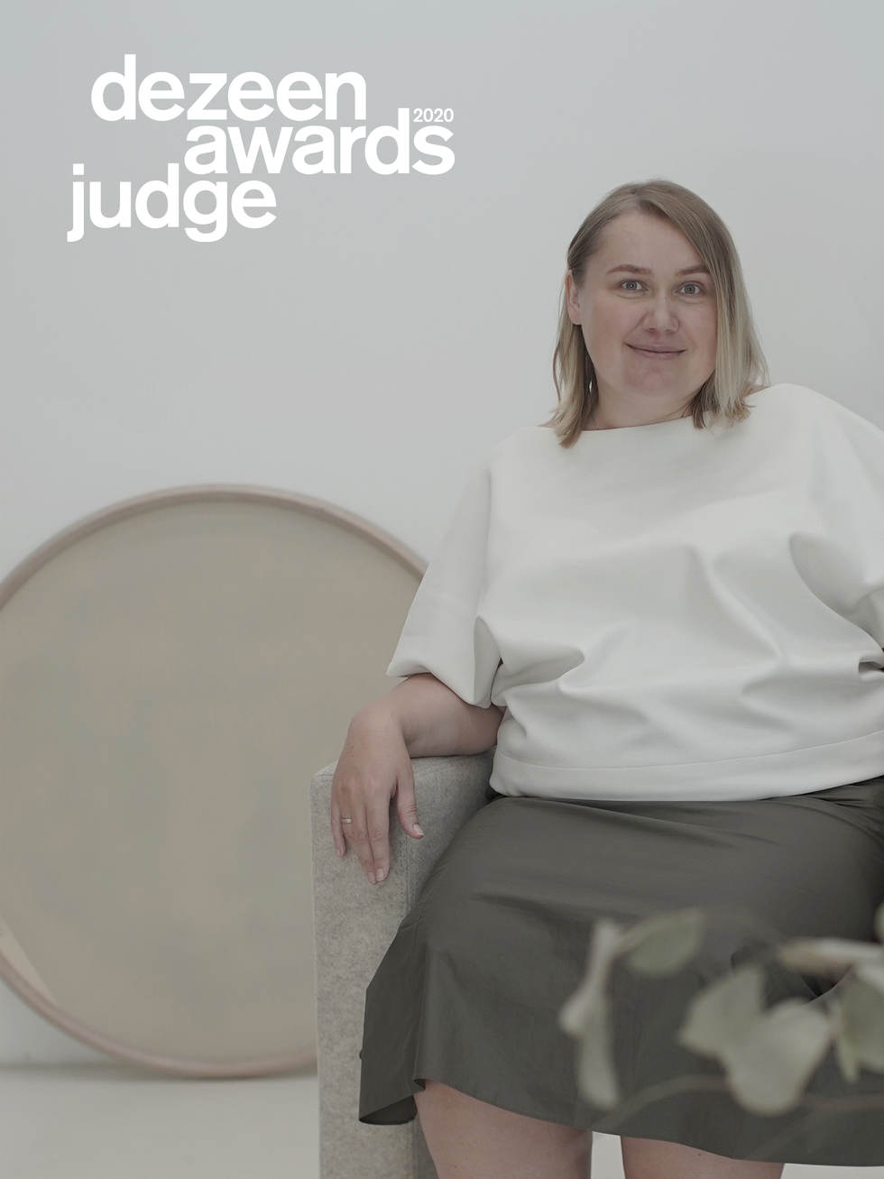EXPERT Victoriya Yakusha was selected as Judge of DEZEEN Awards 20 Judge Dezeen Awards