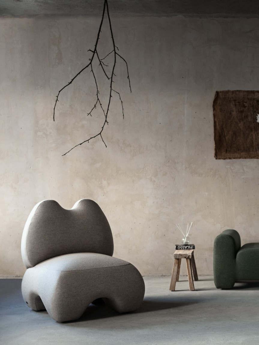 domna armchair faina design yakusha