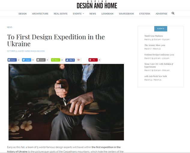 ASPIRE - Design and Home magazine