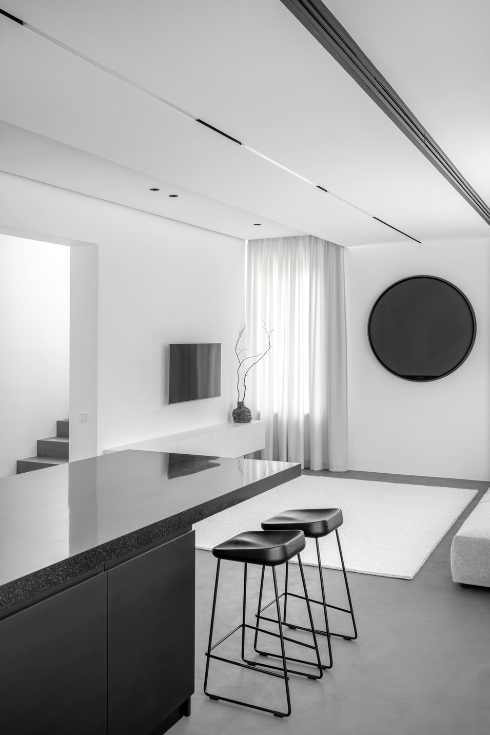 """Minimalist"" interior project"