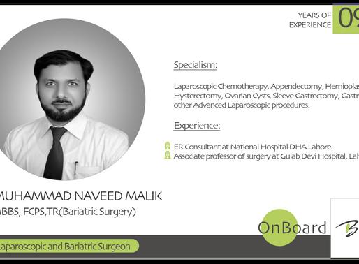 OnBoard | Dr. Muhammad Naveed Malik | Laparoscopic and Bariatric Surgeon