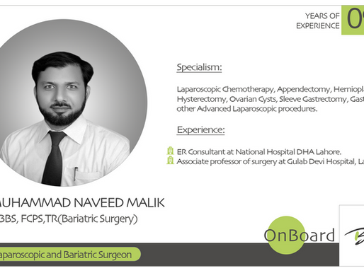OnBoard | Dr. Muhammad Naveed Malik | Laparoscopic and Bariatric Surgeon