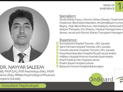 OnBoard |  Saleem | Consultant Nephrologist