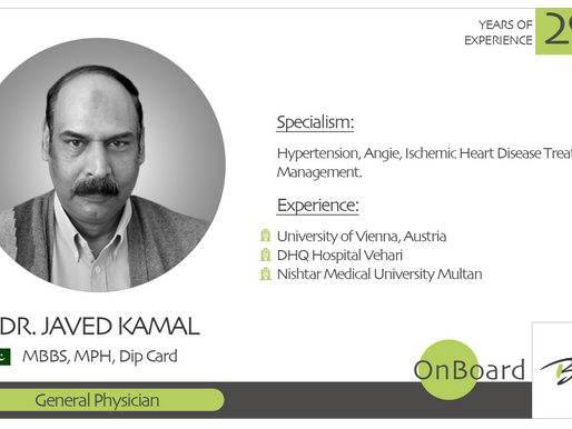 OnBoard | Dr. Javed Kamal | General Physician.