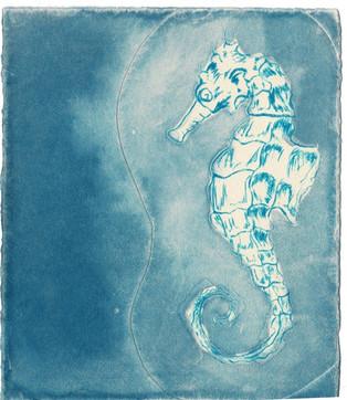Ocean Treasures - Seahorse