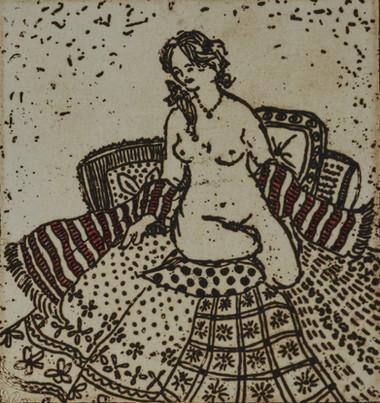 Jennifer Eurell - Nude With Scarf