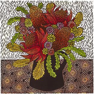 Waraths Banksias and Paper Daisies