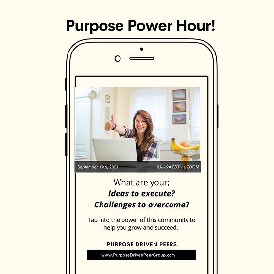 Purpose Power Hour