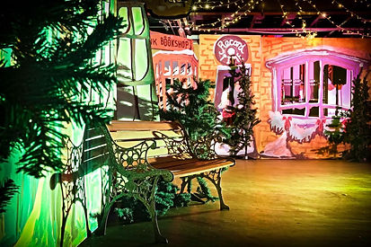 set design london - Darling and Edge - the Vaults - Christmas 2014