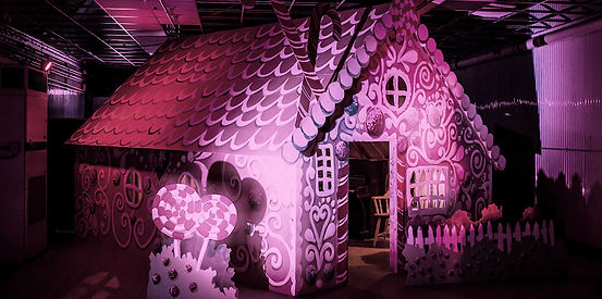 set design london - Darling and Edge - the Vaults - underground nutcracker