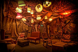 set design london - Darling and Edge - the Vaults - Christmas 2015