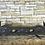 Thumbnail: Art Nouveau Cast Iron and Brass Fender