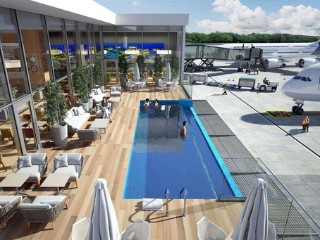 The World's Coolest Airport Swimming Pool Opens Later This Year
