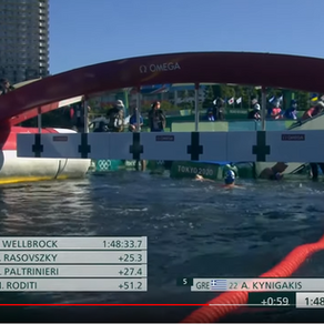 Israel's Matan Roditi finishes 4th in 10 km Olympic swim