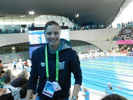 Adina Faur is the new Head Coach for the Athena Diamond Swimming Team.