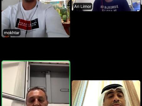 Cooperation between Israeli swimming & Emirati Swimming Federation