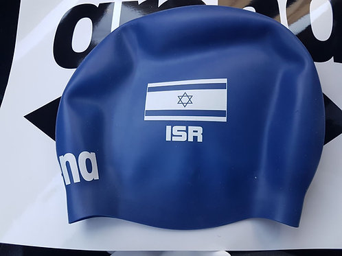 Team Israel arena Swim Cap - Blue