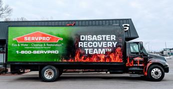 ServPro International box truck
