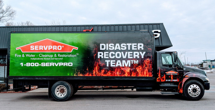 ServPro International box truck