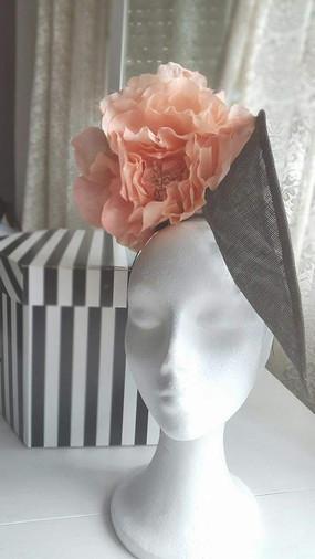 Ala flor rosa palo