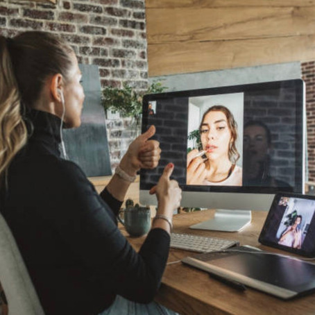 Prueba de maquillaje virtual