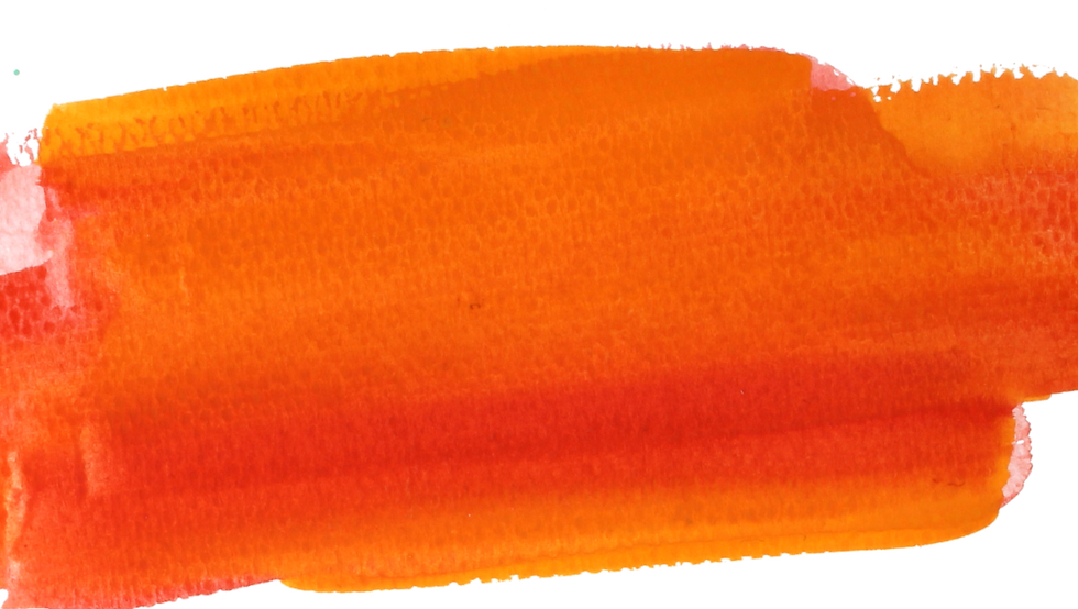 Orange color stripe