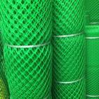 Malla plástica romboidal verde